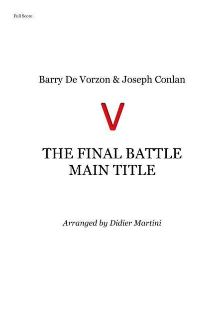 V: The Final Battle - Main Title // Small Ensemble