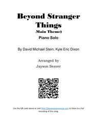 Download Beyond Stranger Things Theme Song Sheet Music By Jayson