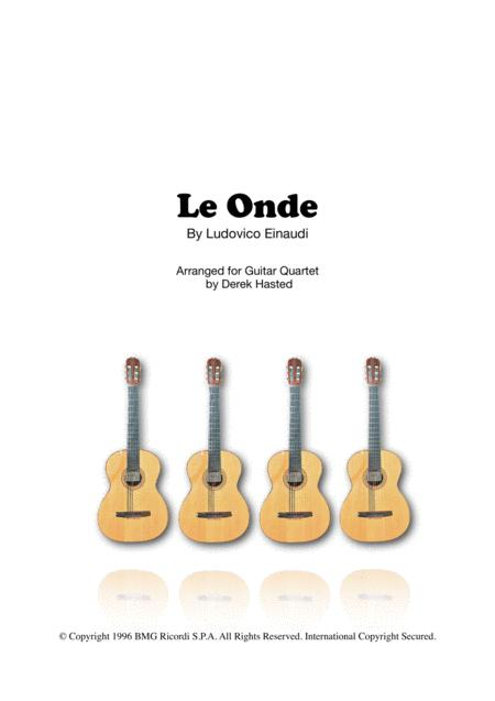 Le Onde - Guitar Quartet/Large Ensemble