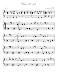 Wake Me Up! (easy piano)