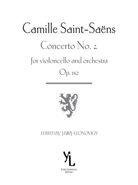 Saint-Saens - Cello Concerto No. 2 Critical Edition (modern clefs)