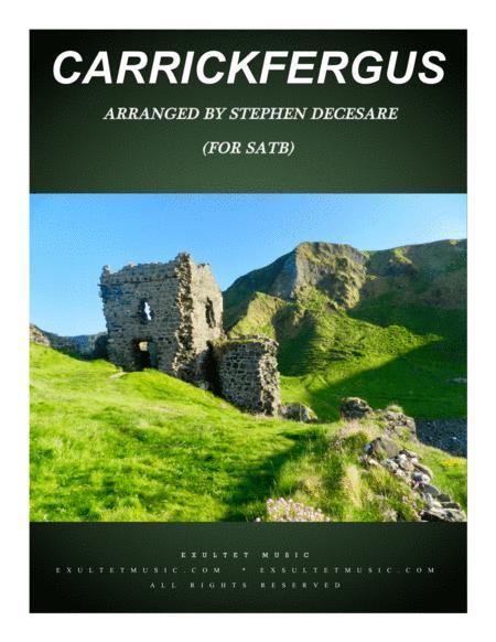 Carrickfergus (for SATB)