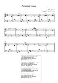 Amazing Grace Piano Solo