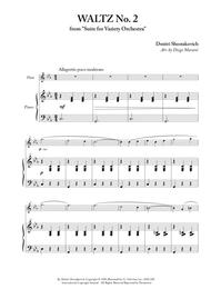 Waltz No. 2 for Flute and Piano