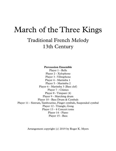 March of the Three Kings - Percussion Ensemble