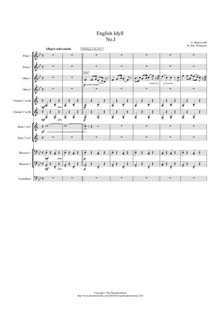 Butterworth: English Idyll No.1 - symphonic wind