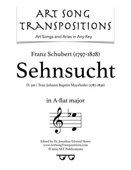 Sehnsucht, D. 516 (A-flat major)