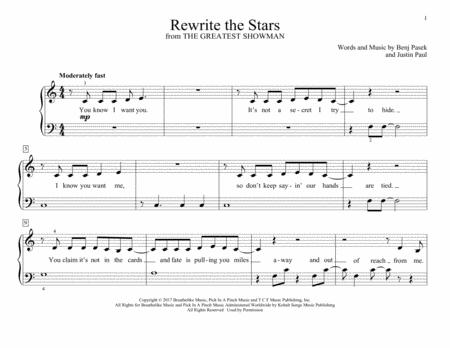 Rewrite The Stars (from The Greatest Showman)