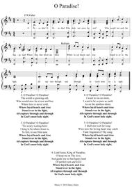 O Paradise! A new tune to a wonderful old hymn.