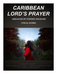 Caribbean Lord's Prayer (Vocal Score)