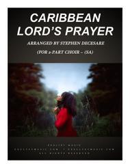 Caribbean Lord's Prayer (for 2-part choir - (SA)