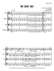Mr. Blue Sky - String Trio (optional vln2 or vla)