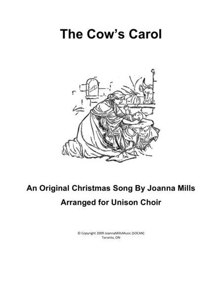 The Cows' Carol (Unison Choir)