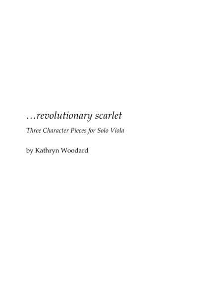revolutionary scarlet (viola solo)
