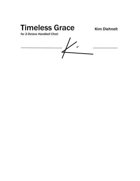 Diehnelt: Timeless Grace - for 2-octave handbell choir
