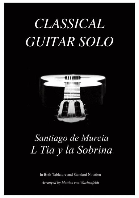 Santiago de Murcia - L Tia y la Sobrina - guitar