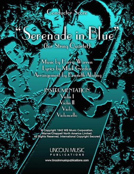Serenade in Blue (for String Quartet)