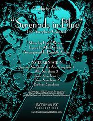 Serenade in Blue (for Saxophone Quintet SATTB or AATTB)