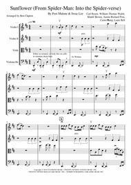 Sunflower - String Quartet