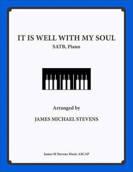 It Is Well With My Soul - SATB & Piano