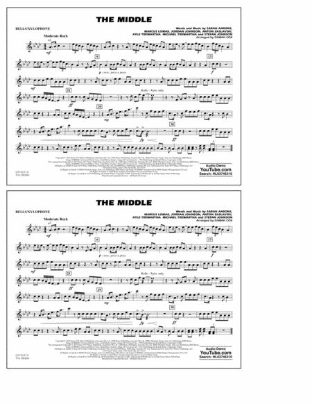 The Middle (arr. Ishbah Cox) - Bells/Xylophone