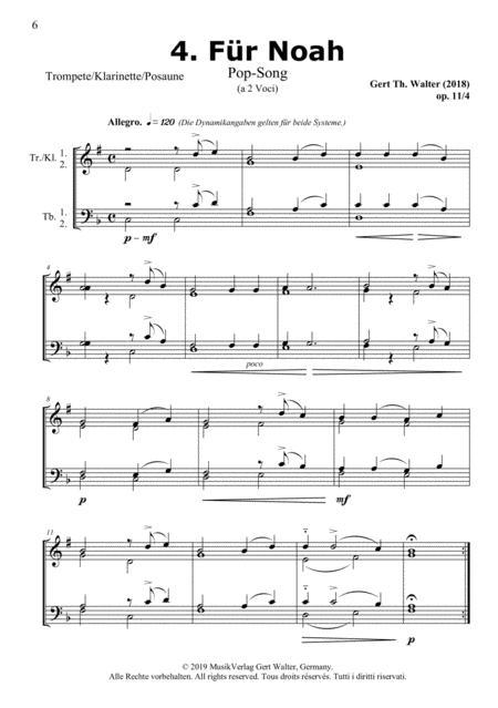 For Noah (from Brass Pop Romanticists)