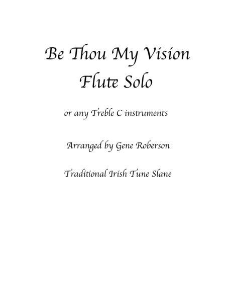 Be Thou My Vision (SLANE) Flute & C Instruments
