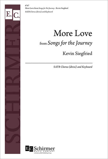 More Love from Songs for the Journey (Organ/Choral Score)
