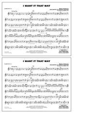 I Want It That Way (arr. Ishbah Cox) - Baritone T.C.