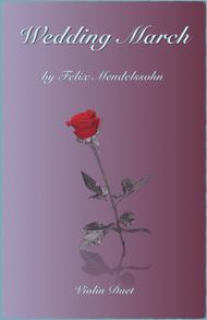 Wedding March by Mendelssohn, Violin Duet