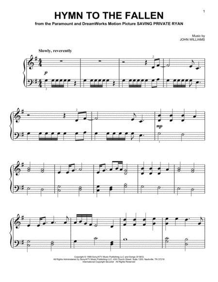 Hymn To The Fallen