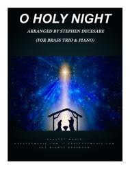 O Holy Night (for Brass Trio and Piano)