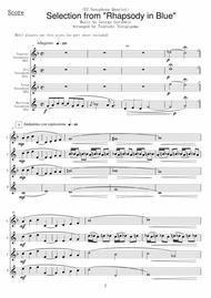 <EZ Saxophone Quartet> Selection from
