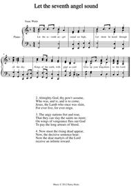 Let the seventh angel sound. A new tune to a wonderful Isaac Watts hymn.