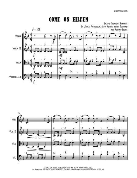Come On Eileen - String Trio (optional vln2 or vla)