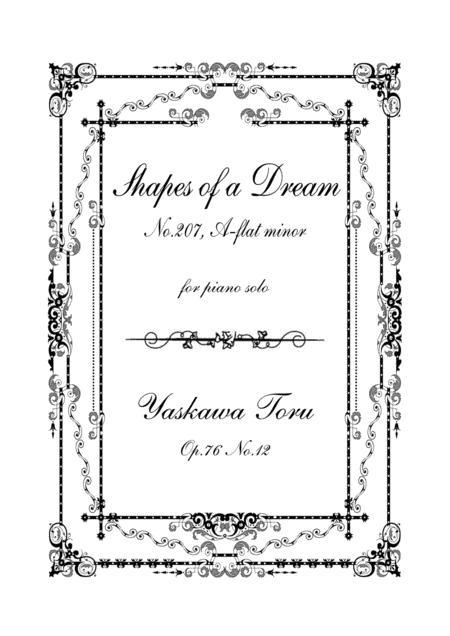 Shapes of a Dream No.207, A-flat minor, Op.76 No.12