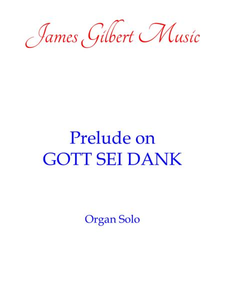 Prelude On GOTT SEI DANK (OR115)