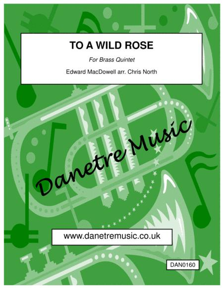 To a Wild Rose (Brass Quintet)