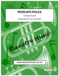 Pizzicato Polka (Brass Quintet)