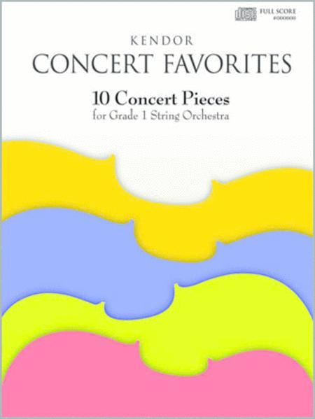 Kendor Concert Favorites - Cello