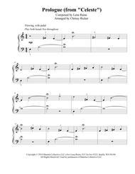 Prologue (Celeste) - easy piano