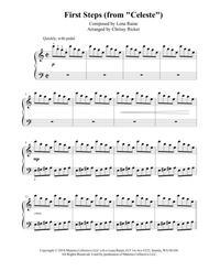 First Steps (Celeste) - easy piano