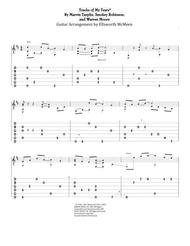 The Tracks Of My Tears (For Fingerstyle Guitar Tuned Open G - DGDGBD)