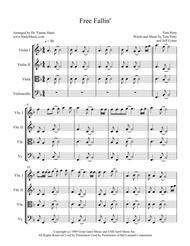 Free Fallin' - String Quartet