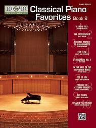 10 for 10 Sheet Music -- Classical Piano Favorites