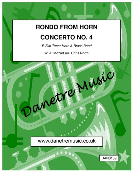 Rondo from Mozart's 4th Horn Concerto (Brass Band)