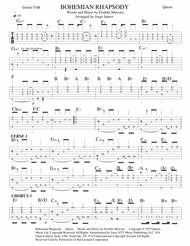 Bohemian Rhapsody - Guitar tab