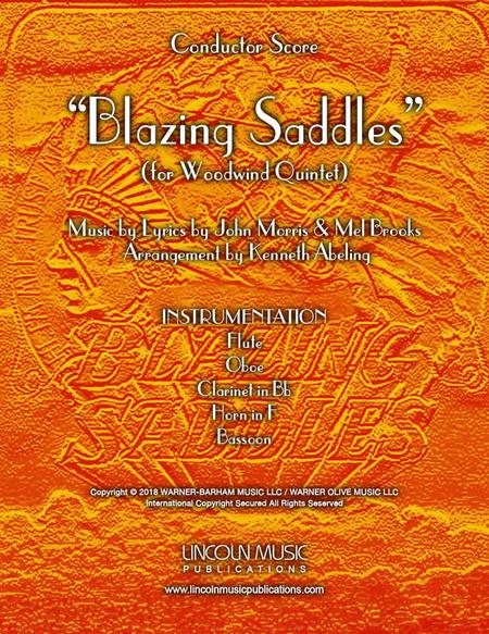 Blazing Saddles (Movie Theme) (for Woodwind Quintet)