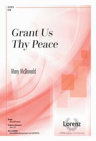 Grant Us Thy Peace