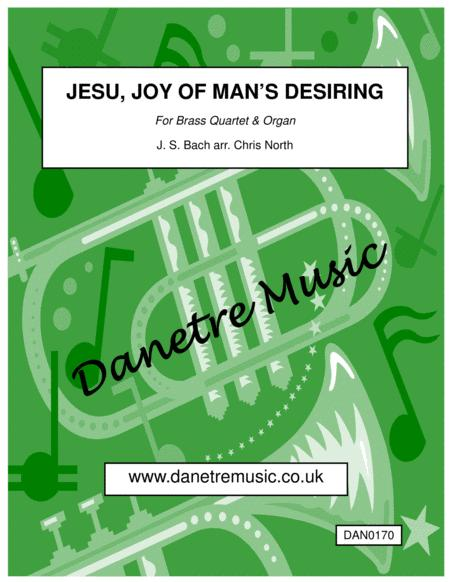 Jesu, Joy Of Man's Desiring (Organ & Brass Quartet)